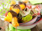 Entenspieße mit Pfirsich Rezept