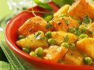 Erbsen-Kartoffel-Curry Rezept