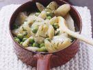 Erbsen-Schwarzwurzel-Gemüse mit Butter Rezept