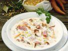 Erbsensuppe mit Eisbein und Speck Rezept