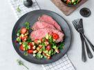 Erdbeer-Salsa mit Roastbeef Rezept