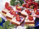 Erdbeer-Schokocremeschnitten Rezept
