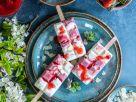Erdbeer-Skyr-Eis am Stiel Rezept