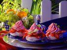 Erdbeereis auf Baiser Rezept