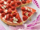 Erdbeerkuchen mit Mandelblättchen Rezept