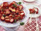 Erdbeersalat mit Vanillesoße Rezept