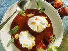 Erdbeersuppe mit Eischnee-Nocken Rezept