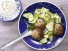 Falafel mit Sesam-Joghurt-Dip Rezept
