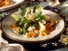 Feldsalat mit Mandarinen und Käse Rezept