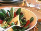 Feldsalat mit Melone und Roter Bete Rezept
