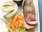 Filet vom Kalb an Cognacsoße und Kardamon-Karotten Rezept