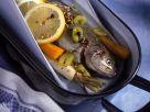 Fisch im Gemüsesud gegart Rezept