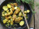 Fisch-Kartoffel-Pfanne mit Cajun-Gewürzmischung Rezept