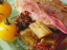 Fisch mit Tomaten und Rhabarber Rezept