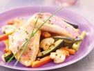 Fischfilet auf Bratgemüse Rezept