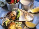 Fischklößchen mit Pitabrot Rezept
