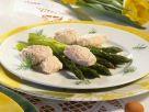 Fischklößchen mit Spargel Rezept
