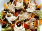 Fischsalat mit Oliven auf spanische Art Rezept