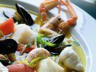 Fischsuppe mit Knoblauchmayonnaise (Aioli) Rezept