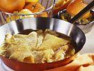 Flambierte Crêpes mit Orangensoße (Crêpes Suzette) Rezept