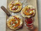 Flammkuchen mit Kürbis und Feta Rezept