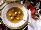 Fleiscbrühe mit Klößchen Rezept