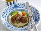 Fleischpflanzerl mit Kartoffelpüree Rezept