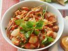 Fleischsalat mit Tomaten-Dressing Rezept