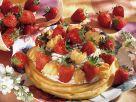 Flockentorte mit Erdbeeren Rezept