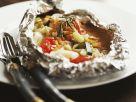 Folien-Lachs mit Gemüse Rezept