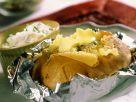 Folienkartoffel mit Kräuterquark Rezept