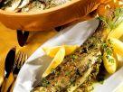 Forellen aus dem Römertopf Rezept