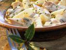 Frikasee mit Spargel und Pilzen Rezept