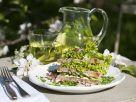 Frischkäse-Salat-Sandwiches Rezept