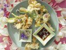 Frittierte Essblüten Rezept