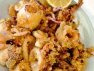 Frittierte Tintenfische Rezept