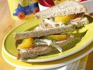 Fruchtige Sandwich-Ecken Rezept