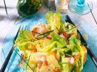 Fruchtiger Kopfsalat mit Schinken Rezept
