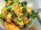 Fruchtiger Linsensalat mit Zucchini Rezept