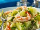 Fruchtiger Reis-Garnelensalat Rezept