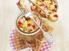 Fruchtiger Reissalat mit Schinken Rezept