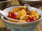 Fruchtiges Hähnchencurry mit Tomaten Rezept