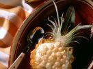 Fruchtsalat mit Baiserhaube Rezept
