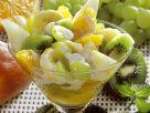 Fruchtsalat mit Joghurtsauce Rezept
