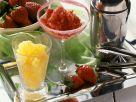 Fruchtsorbet-Duo Rezept