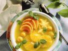 Fruchtsuppe mit Orangen und Papaya Rezept