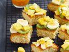 Früchte-Biskuitkuchen Rezept