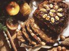 Früchtebrot zu Weihnachten Rezept