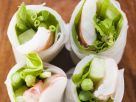 Frühlingsrollen mit Spargel und Shrimps Rezept