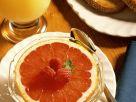 Frühstück mit Grapefruit und Brot Rezept